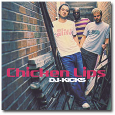 Chicken Lips DJ Kicks CD cover