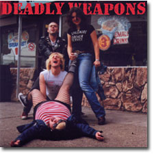 Deadly Weapons 7inch cover