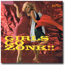 Girls Go Zonk CD cover