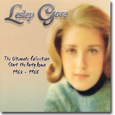 Lesley Gore CD cover