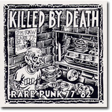 Killed By Death CD cover