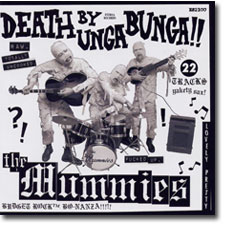 Death by Unga Bunga CD cover