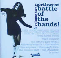 Northwest Battle of the Bands volume two CD cover
