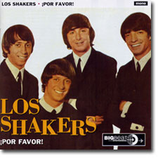 Los Shakers CD cover