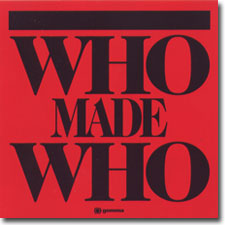 Who Made Who CD cover